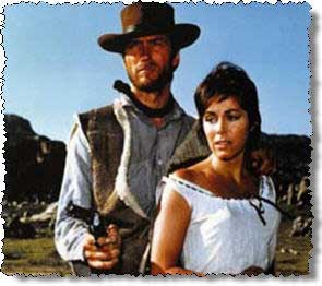 clint eastwood in fistful of dollars