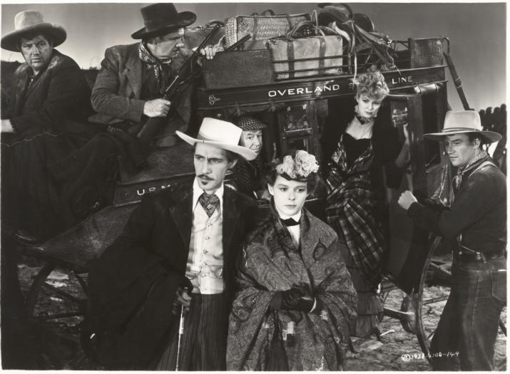 stagecoach western film john wayne